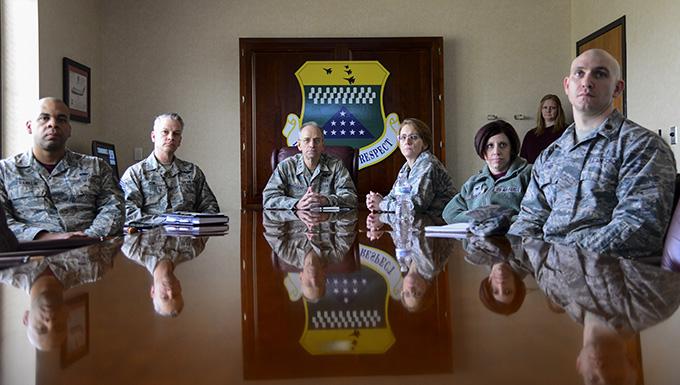 Air Force Surgeon General visits AFMES, AFMAO, 436th MXG medics