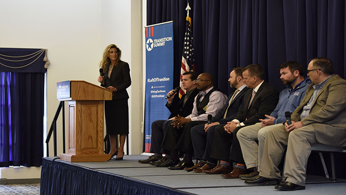 Team Dover hosts second annual Hiring Our Heroes Military Transition Summit