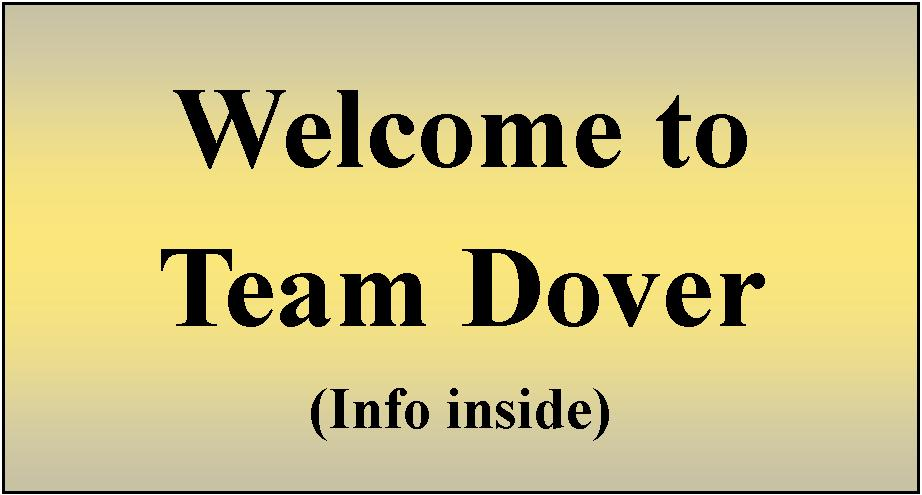 Welcome to Team Dover