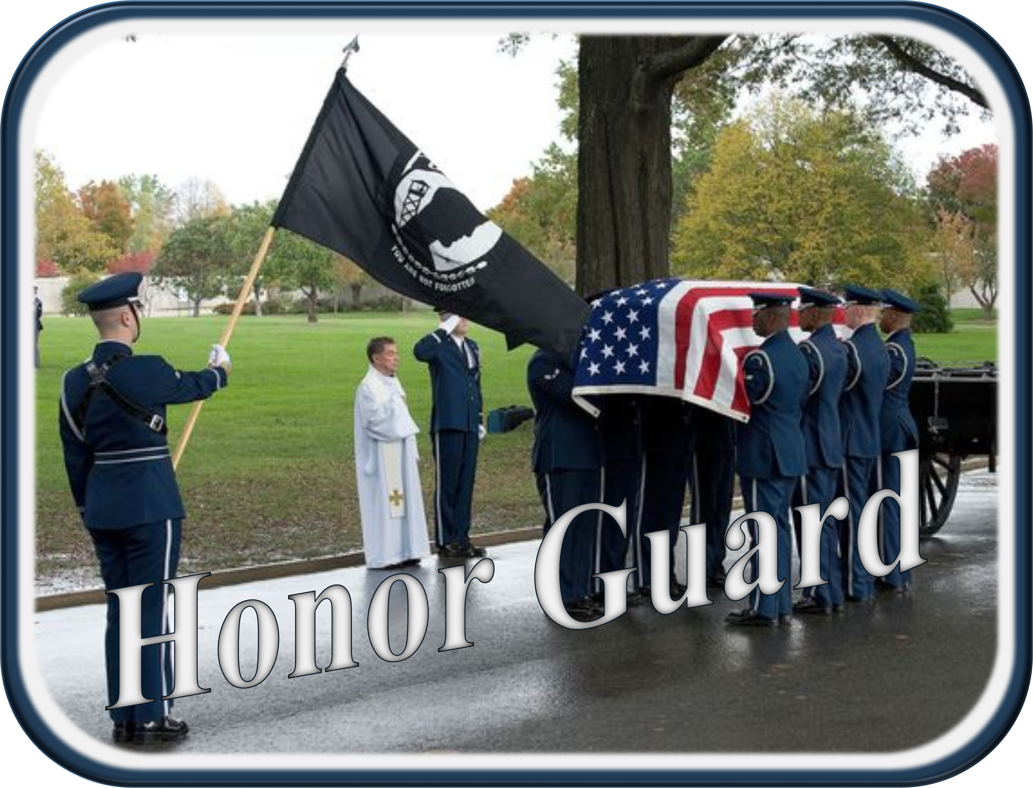 Dover Air force Base Honor Guard Request